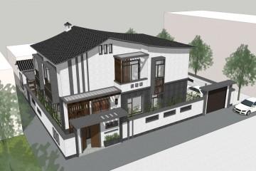 贵州天柱梁家新中式别墅