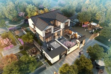 湖南衡陽唐家新中式別墅