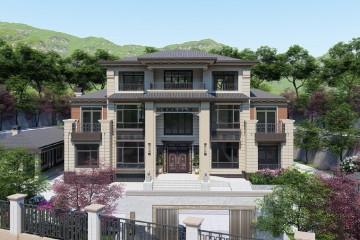 湖南衡陽呂家新中式別墅