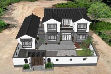 湖南长沙杨家新中式别墅
