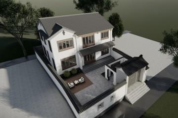河北邯郸申家中式宅院