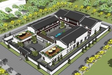 廣東惠州張家中式宅院