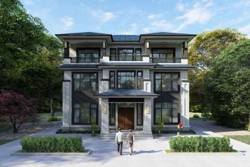 湖北黄石潘家新中式别墅