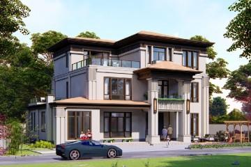 湖南益阳段家新中式别墅