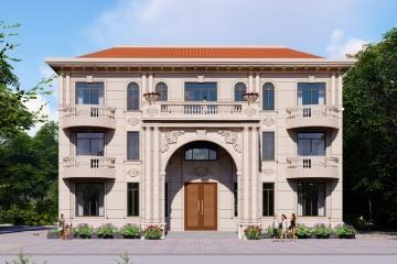 广西柳州韦家欧式别墅