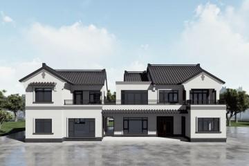 湖南怀化张家新中式别墅