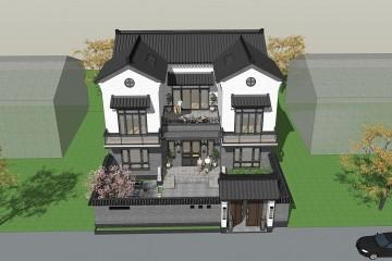 重庆铜梁曾家新中式别墅