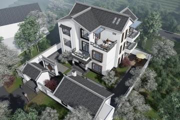 湖南湘西麻家新中式别墅