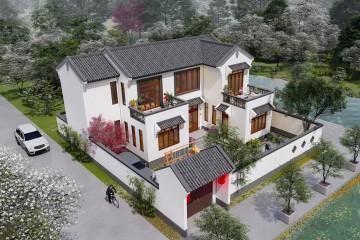 广东惠州李家新中式宅院