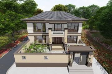 北京顺义康家新中式别墅