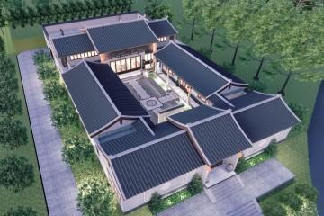 四川成都中式别墅